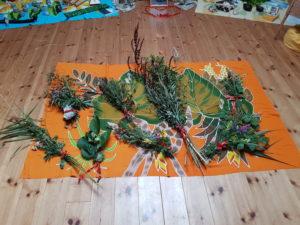 Schnitterinnen-Ritualsträuße